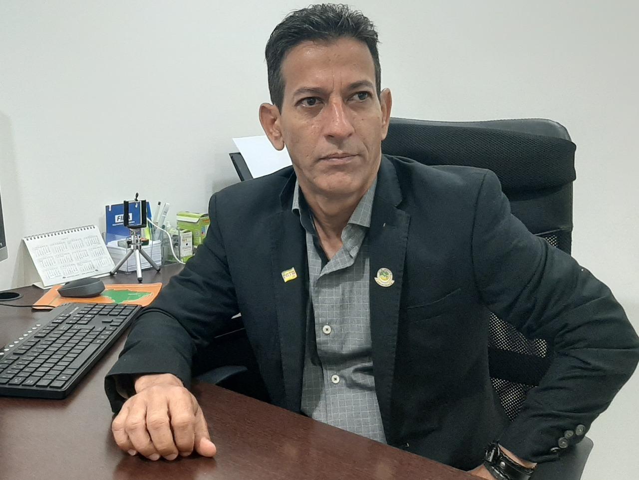 Wellington Sena, diretor do A Notícia